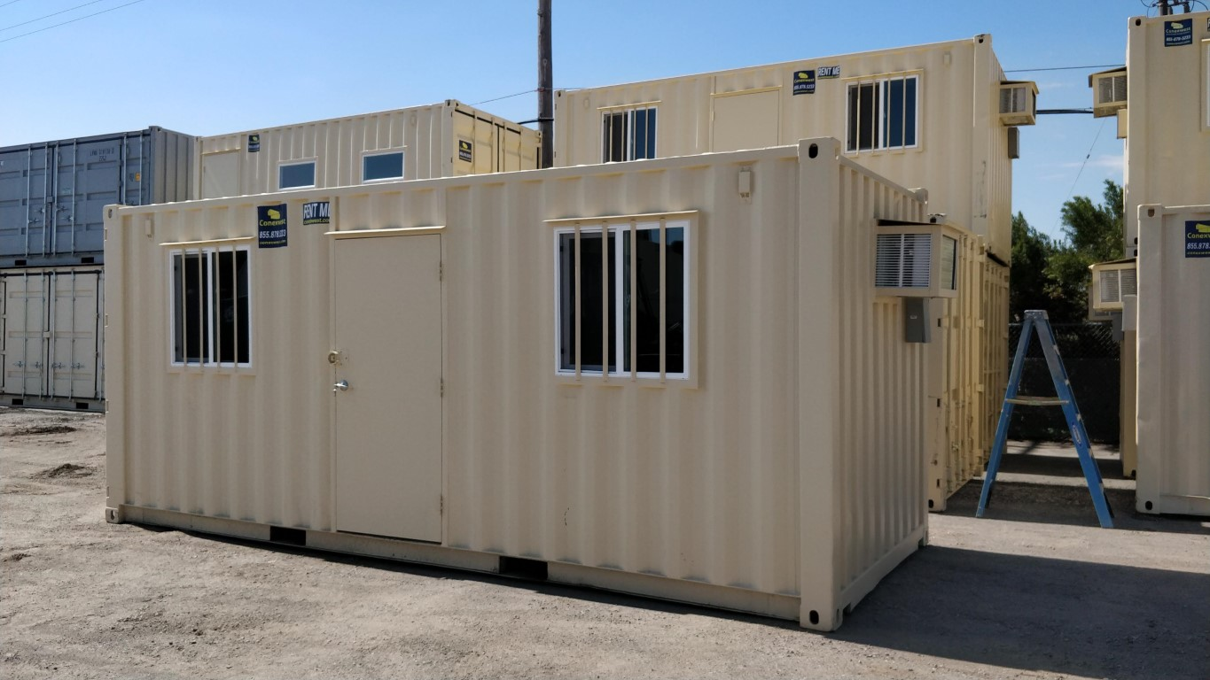 Storage containers and offices for rent in Oakland