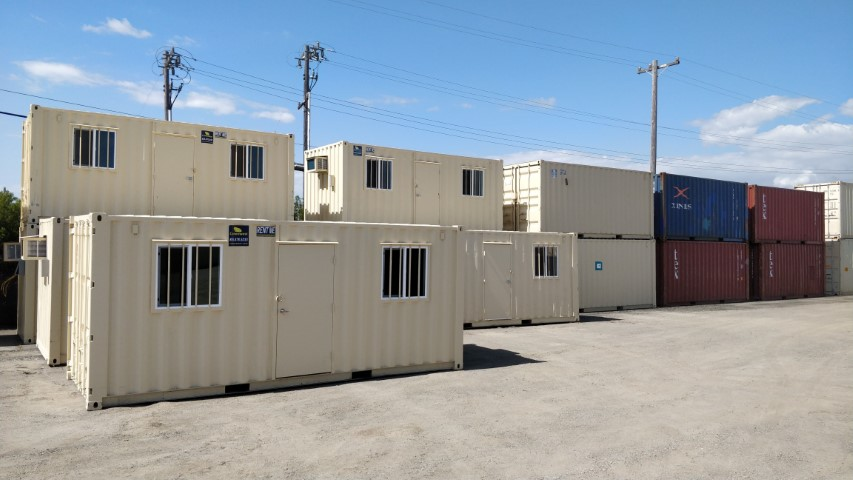 Oakland yard for shipping containers and storage rentals