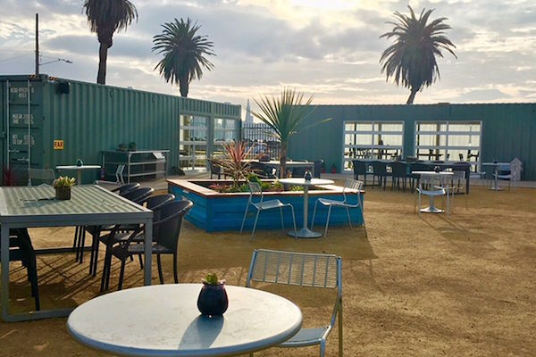 Mersea Shipping Container Restaurant