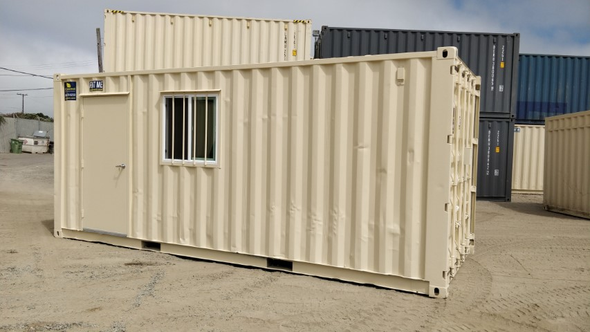 Refurbished Office/Storage Combination Container