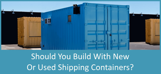 Buy a new or used shipping container from conexwest