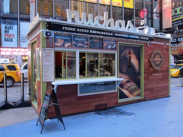 SnackBox Shipping Container Restaurant, Times Square, New York