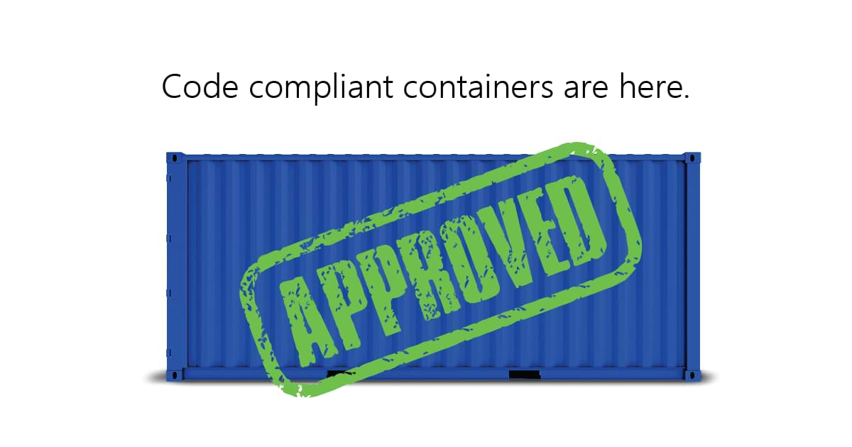 Code compliant containers