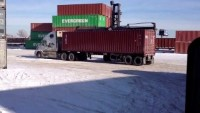 Minnesota depot location from conexwest with shipping containers ready to deliver