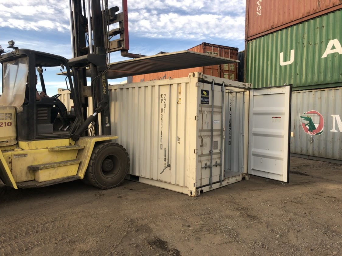 20 FT open top hard roof shipping container