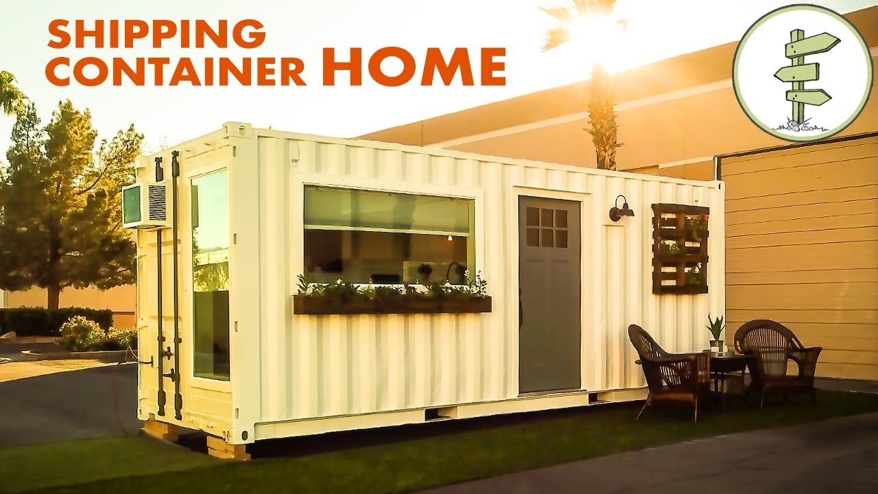 Shipping container homes by Conexwest