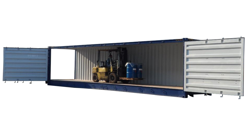 40ft high cube open side shipping containers for sale near ...