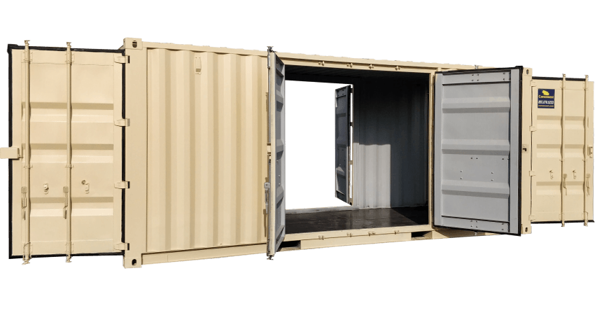 20ft quad door shipping container for sale near me   Conexwest