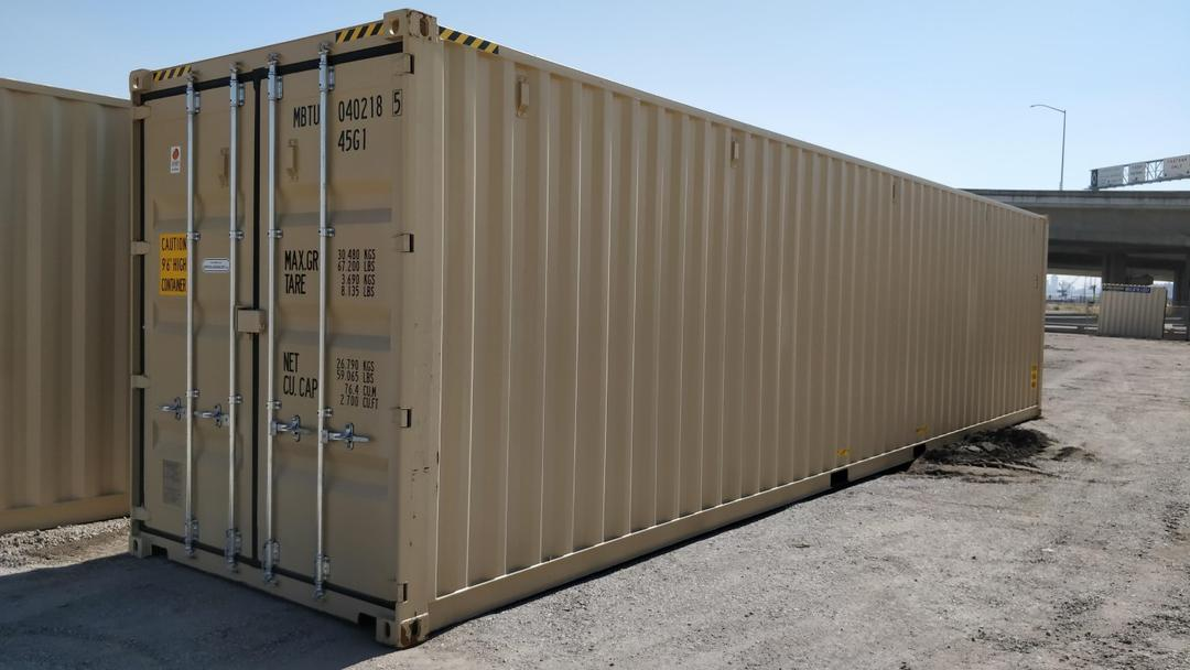 40ft high cube shipping containers for sale near me ...